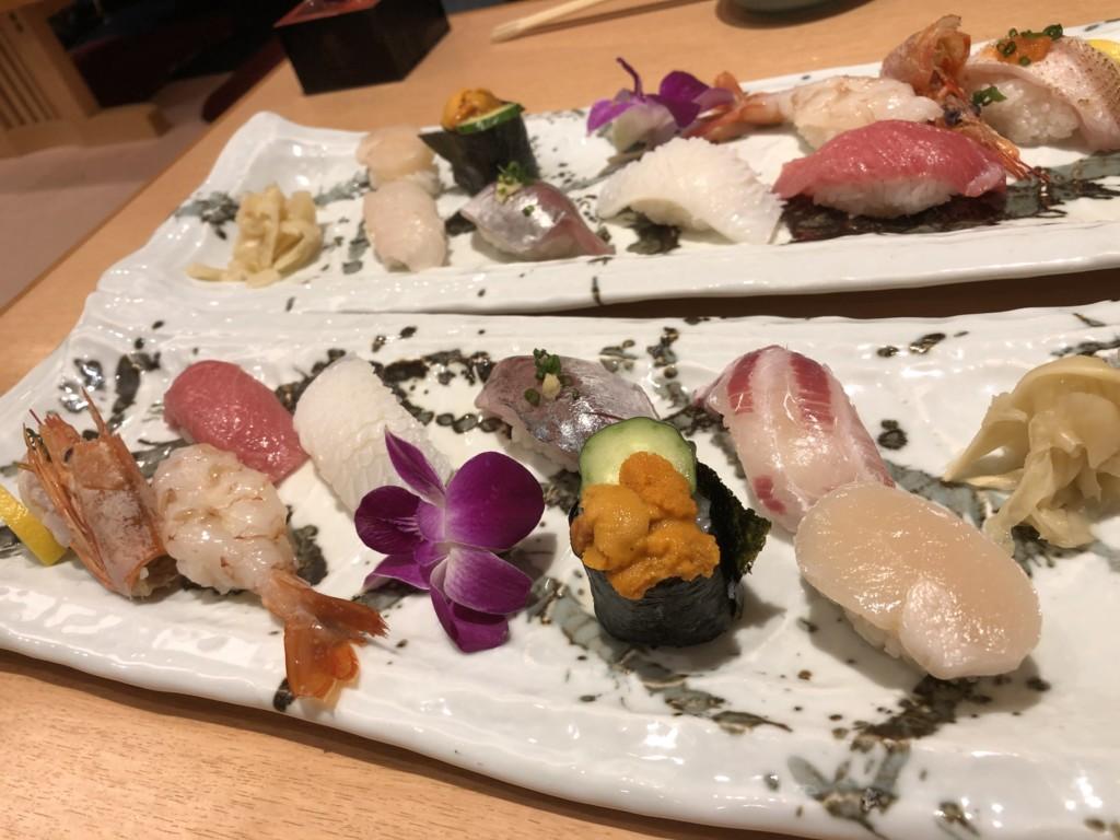 福岡グルメ情報 天神の美味い寿司屋といえば「ひょうたん寿司」