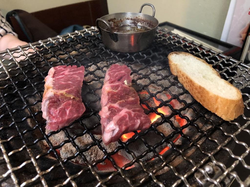 福岡グルメ情報 とにかくホルモンが美味い!西新の炭火焼肉ホルモンやまと