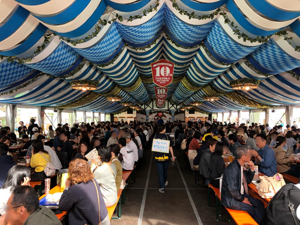 【福岡オクトーバーフェスト2021】世界のビールや2019年の様子をご紹介