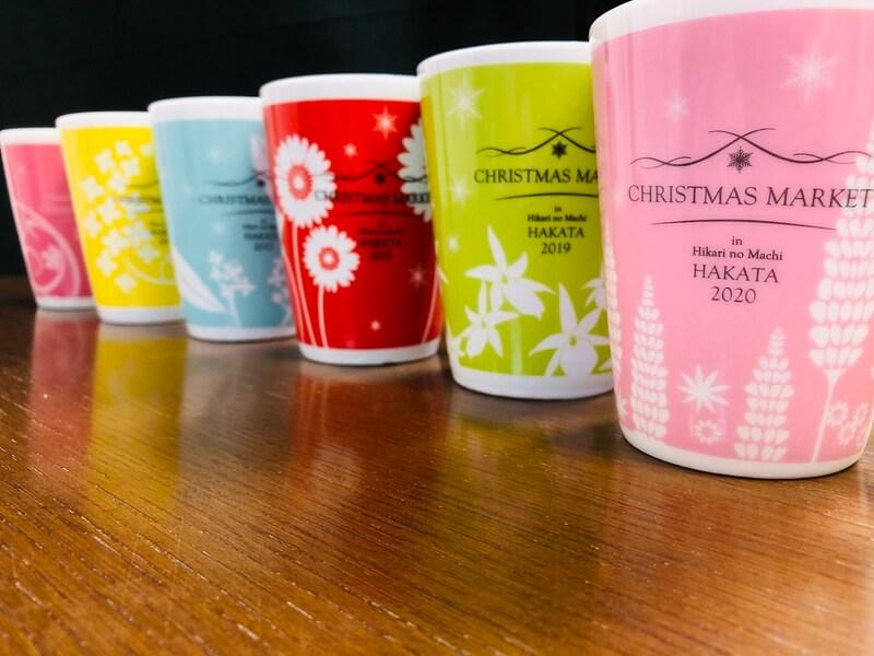 福岡クリスマスマーケット2020(博多)のマグカップ