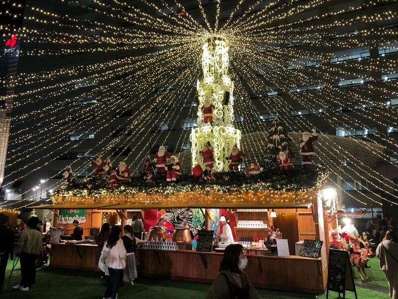 福岡クリスマスマーケット2020(天神) イルミネーション