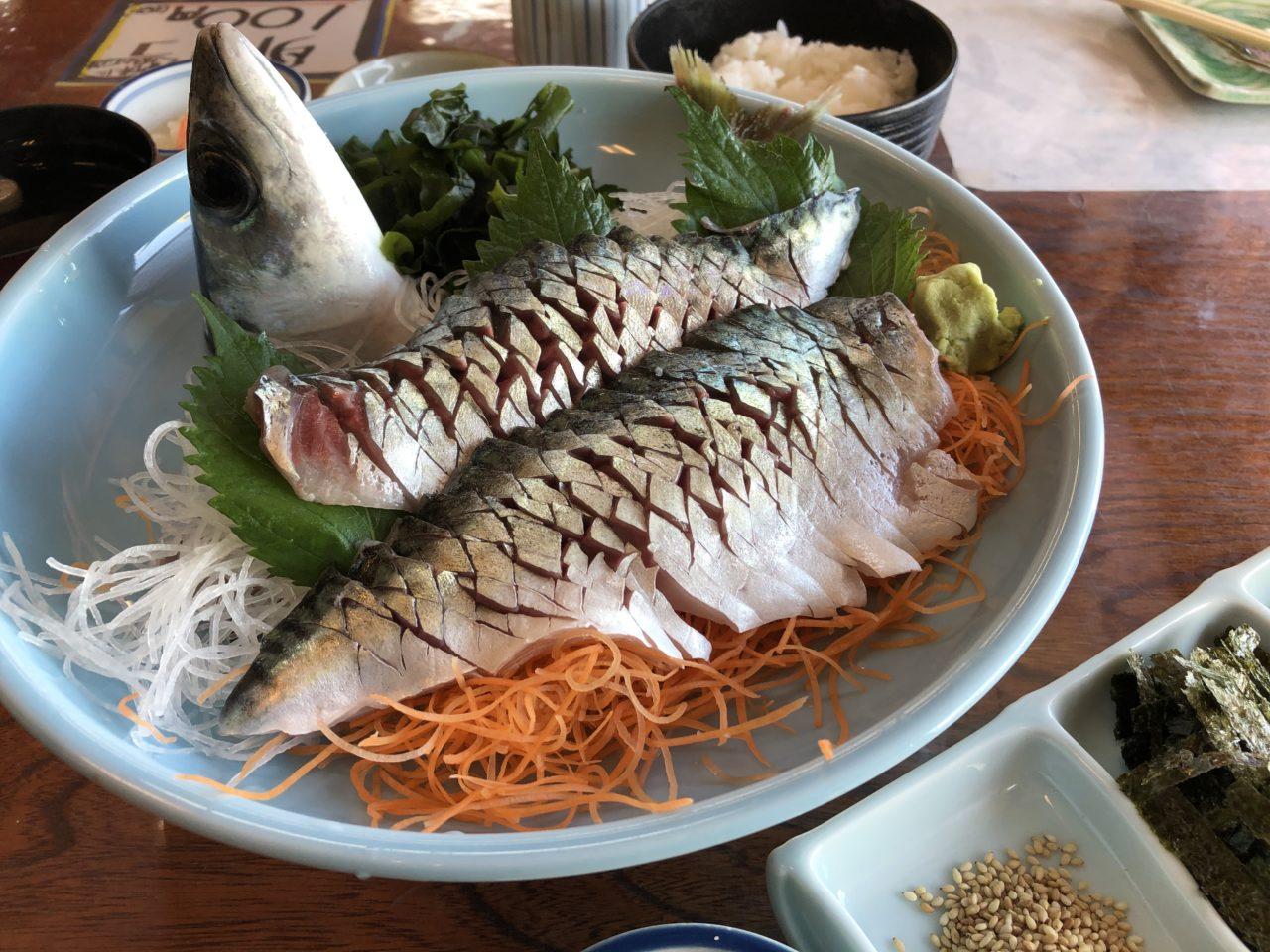 福岡グルメ情報 ランチ・デート・ファミリー利用にぴったり&最高のサバを味わえる!!西区今津の魚庄(うおしょう)大原店