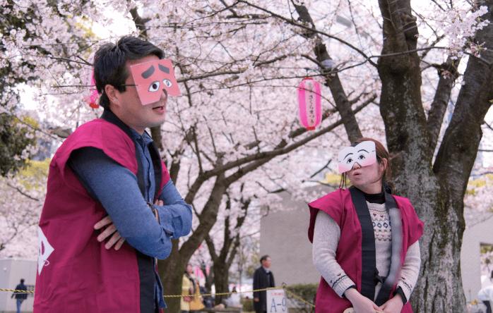 福岡の博多にわか
