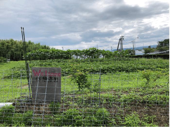 体験農園外観
