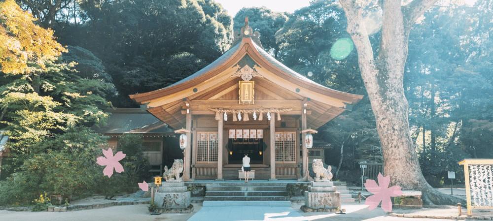 福岡の聖地は「宝満宮 竈門神社」
