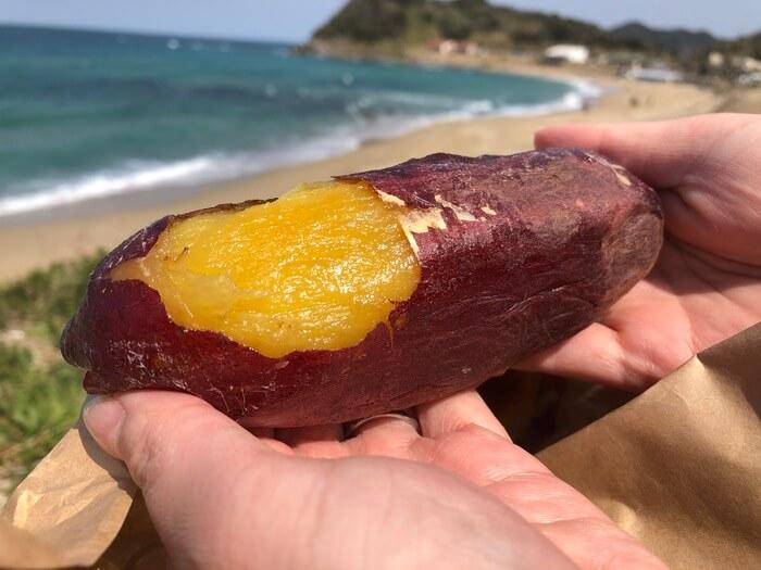 【福岡の焼き芋】糸島のビーチにあるおやつスタンドで美味しいさつまいもを楽しもう【写真付き】