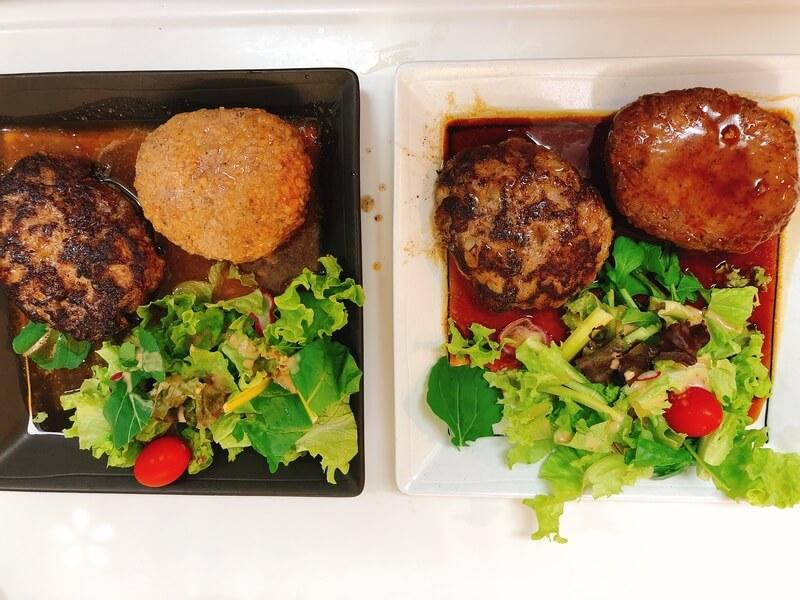 竹乃屋オンラインショップ トマト煮込みハンバーグとてりやきハンバーグ