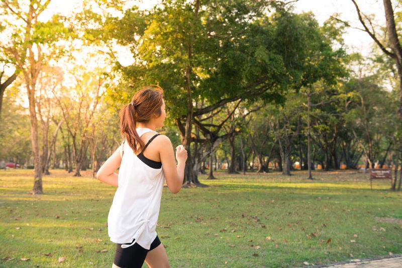 在宅勤務での運動不足を解消するために実践