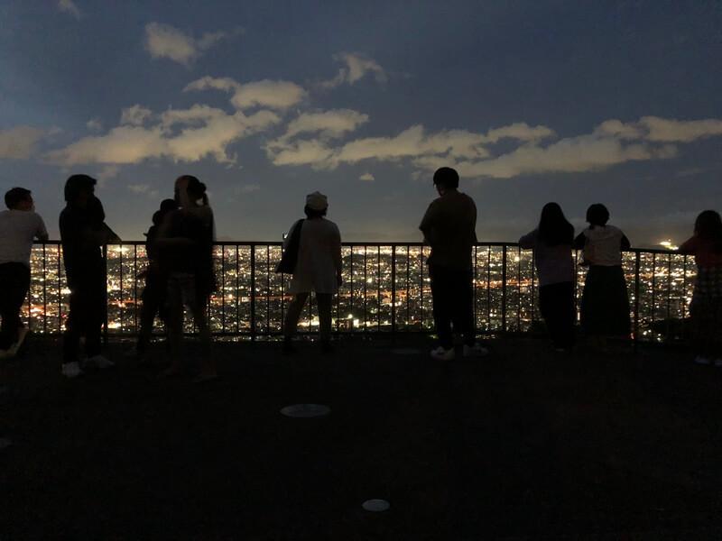 油山片江展望台 福岡市の夜景スポット デートスポット