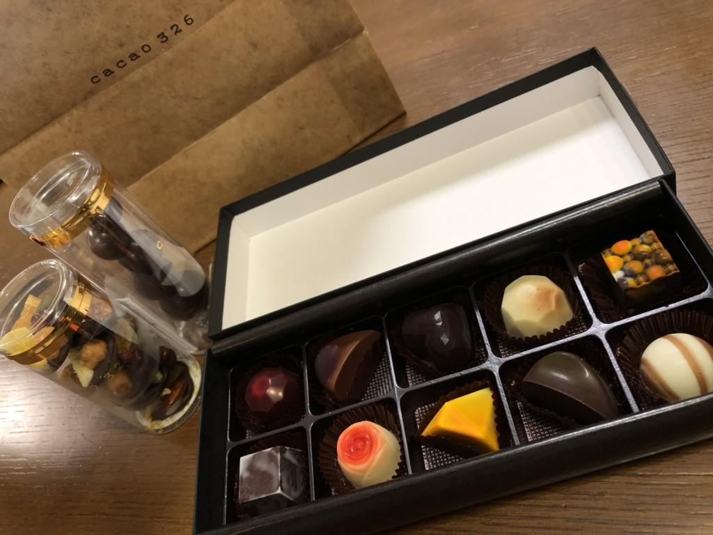 cacao 326(カカオ サンニーロク)のチョコレート