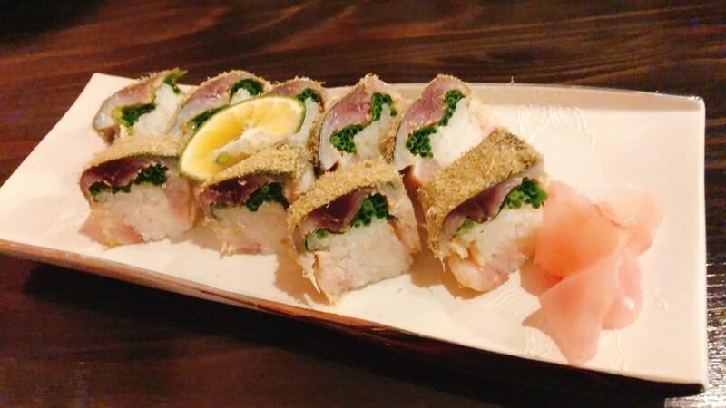 和飯屋うたの 鯖寿司