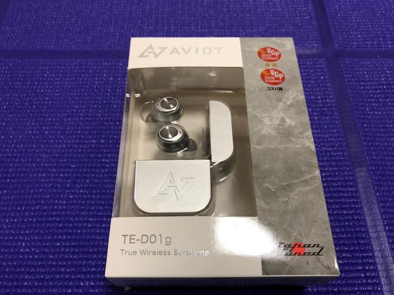 ワイヤレスイヤホン(AVIOT TE-D01g)