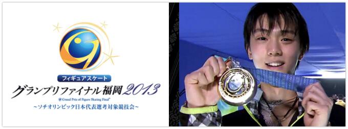 サヌイ織物 フィギュアスケート『ISUグランプリファイナル2013福岡』のメダルリボン