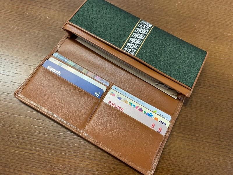 サヌイ織物の長財布