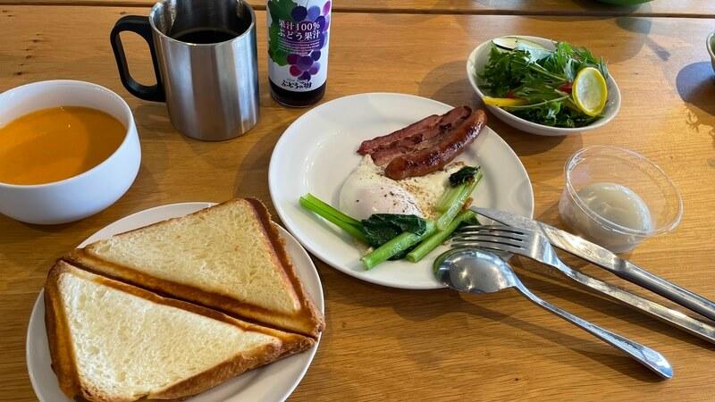 福津 ぶどうの樹 グランピング 朝食