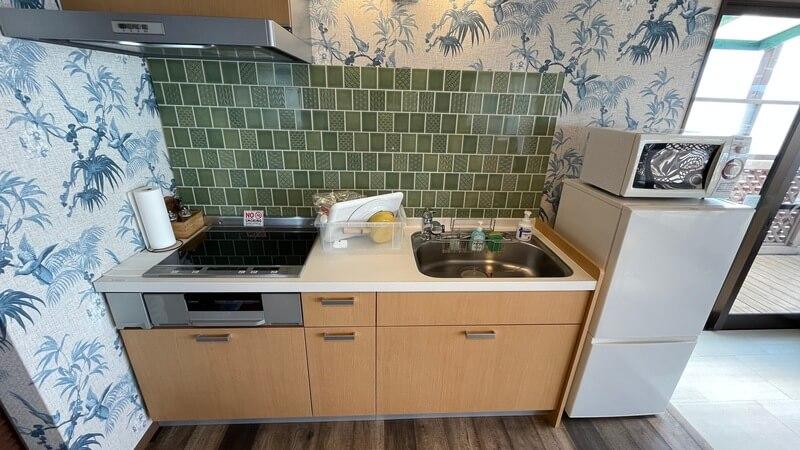 ぶどうの樹 グランピング福岡 モアナのキッチン