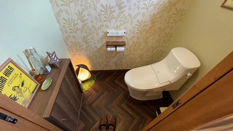 ぶどうの樹 グランピング福岡 トイレ