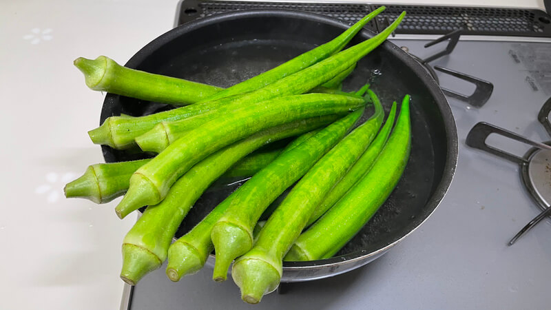 オクラ料理